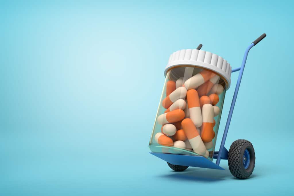 Transport leków